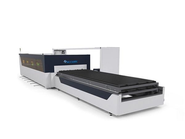 Macchina da taglio laser in fibra di cnc per tubi in acciaio al carbonio da 4 mm con raytools