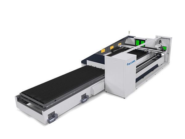 Alta precisione del fuoco automatico della tagliatrice del laser del tubo del metallo di 6000mm