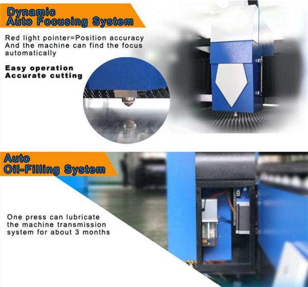 precisione di ripetizione della tagliatrice del laser della fibra del acciaio al carbonio