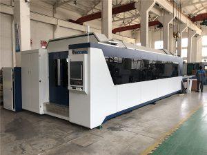 macchina da taglio laser professionale a fibra cnc 1000w 1500w con tavola di scambio