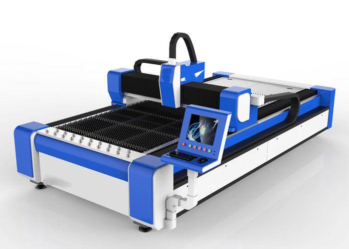 Macchina per taglio laser a fibra 500w per acciaio inossidabile / ms alta velocità 100m / min