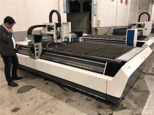 taglio di tubi e lamiera in una macchina da taglio laser 700-6000w