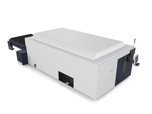 tagliatrice laser industriale lamiera / tubi sistema cnc high-end doppio motore