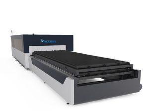 macchina da taglio laser in fibra di metallo piastra / tubo 1000 watt usa testa di taglio lasermech