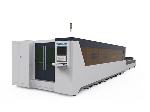 macchina da taglio laser industriale per la lavorazione dei metalli di tipo completamente coperto 1000w