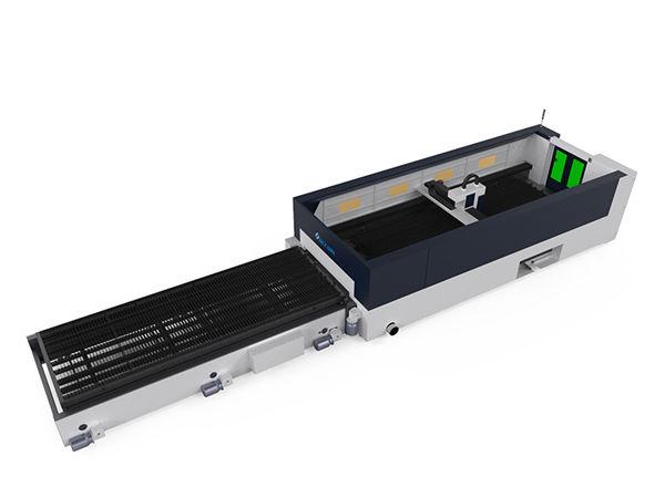 macchina da taglio laser in fibra di metallo ad alta precisione 500w raycools testa di taglio