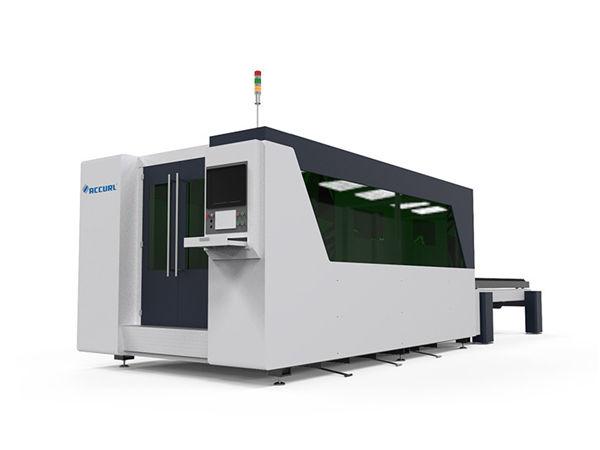 tagliatrice del metallo del laser di CNC della doppia tavola, tagliatrice automatica del piatto del laser