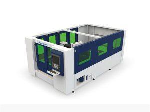 mini tagliatrice laser a fibra da 500w per tubo e lamiera chiusi