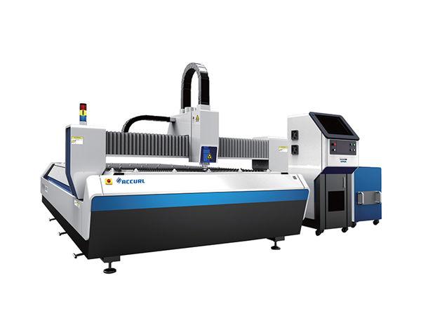 macchina per taglio laser in fibra di metallo ad alta efficienza, taglierina per lamiera in acciaio inossidabile