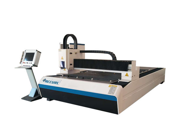 macchina da taglio laser a fibra metallica per raffreddamento ad acqua per taglio di metalli da 1 - 3mm