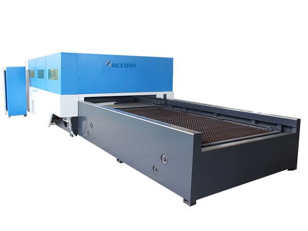 Macchina da taglio laser in fibra di cnc da 70 w per metallo ad alta velocità