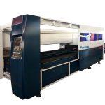 macchina da taglio laser industriale in lamiera
