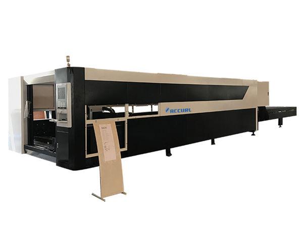 1.5kw macchina da taglio laser industriale cnc / attrezzature 380v, 1 anno di garanzia
