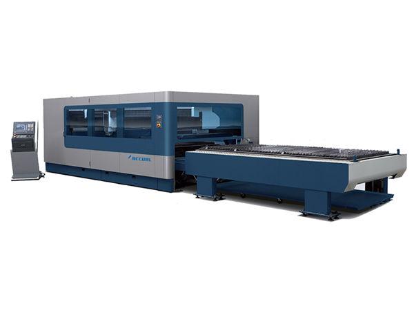 macchina da taglio laser industriale in metallo cnc 380v / 50hz 1kw 1.5kw sorgente laser