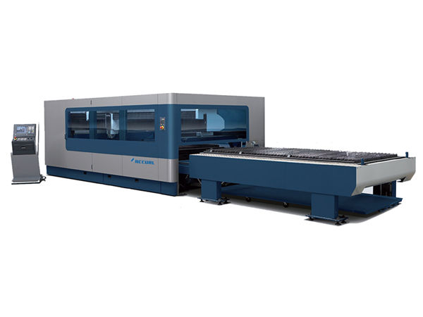 macchina automatica per taglio laser in fibra cnc a fascio