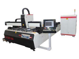 macchina per taglio laser in fibra di cnc con piastra in lega di acciaio ad alta efficienza
