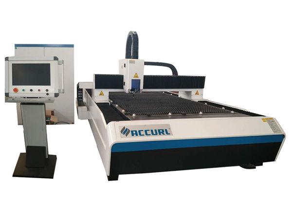 taglio laser preciso in fibra di metallo tipo aperto per acciaio inossidabile