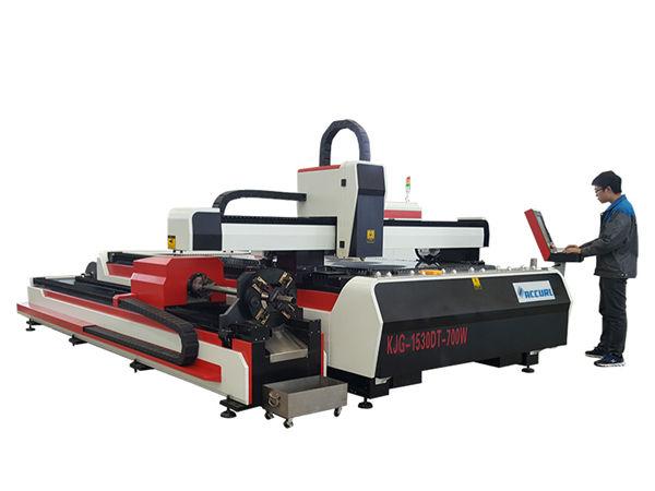 tagliatrice del metallo del laser della fibra 500w 800w 1kw 800mm / s velocità operativa
