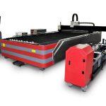 macchina da taglio laser a fibra cnc di tipo chiuso 500w / 1000w ad alta resistenza