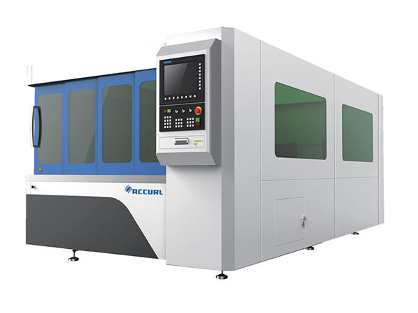 precisione di alta posizione di fonte del ipg dell'attrezzatura per il taglio del laser di CNC del tubo / tubo