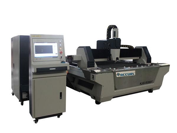 Tagliatrice del tubo del laser della fibra 800w alta precisione con la tavola di lavoro fissa