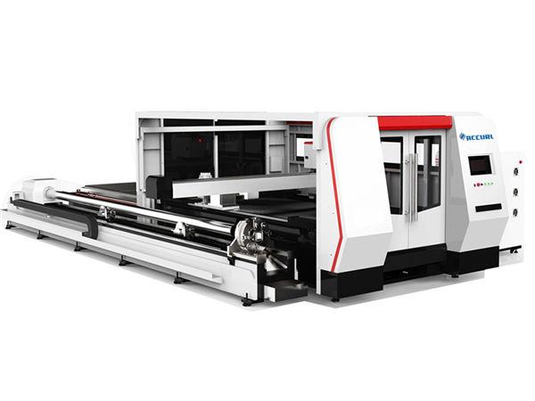 Tagliatrice del tubo del laser della fibra di CNC 1000w con il sistema di controllo di cypcut