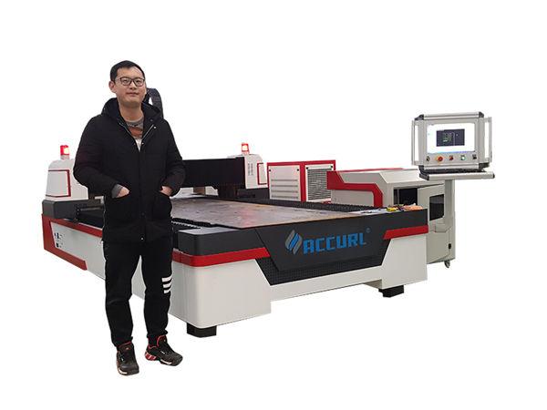 tagliatrice di tubi laser cnc a guida lineare per rame / titanio