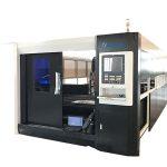 macchina da taglio laser in fibra di acciaio inossidabile per lamiera 1000w alta precisione