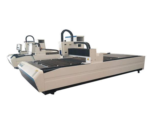 attrezzatura da taglio per tubi laser a doppio uso, macchina da taglio professionale per tubi laser cnc