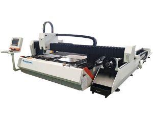 tagliatrice laser in fibra di metallo a tubo 1500w velocità regolabile con alimentazione automatica