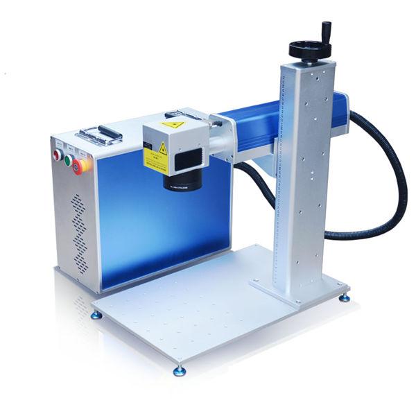 macchina per incisione laser in fibra design del corpo macchina da 10 metri